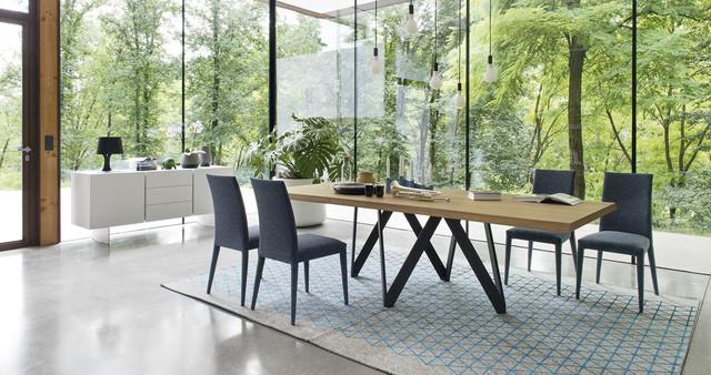 Calligaris Cartesio Dining Table Contemporary Dining Room - Calligaris dining table