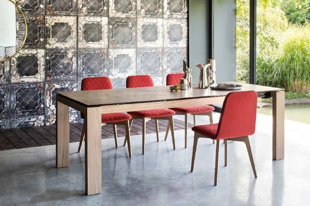 Calligaris Omnia Dining Table Contemporary Dining Room San Awesome Dining Room Furniture San Antonio