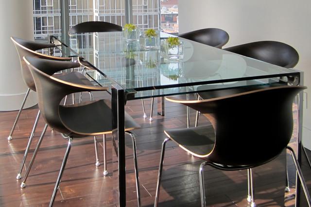 Cambie Condo Design modern-dining-room