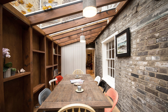 Camden Town Side Return Extension Country Dining Room London By Yard Architects Houzz Uk