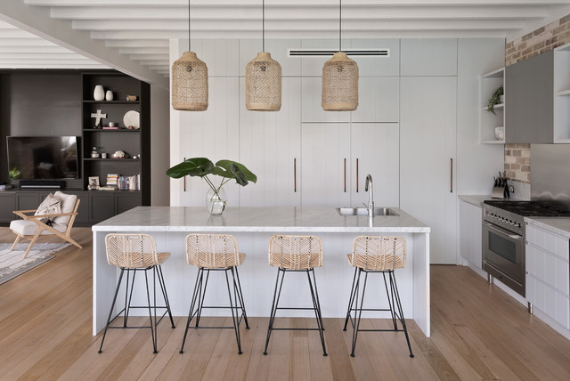 Plan Your Kitchen Island Seating For Your Household Houzz Au