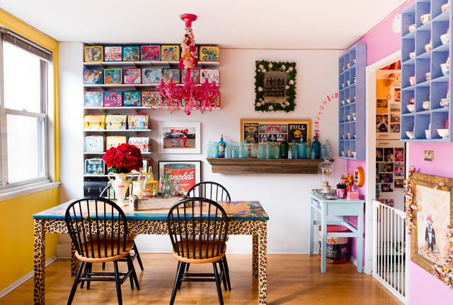 My Houzz: Jeanie Engelbach eclectic-dining-room