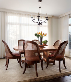 Canterbury lane remodel traditional dining room for Dining room tables milwaukee