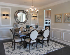 Canton contemporary dining room