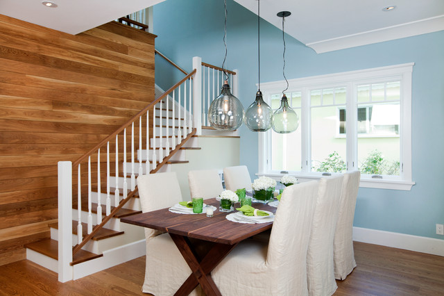 Lovely Cape Cod Meets Contemporary Contemporary Dining Room Part 20