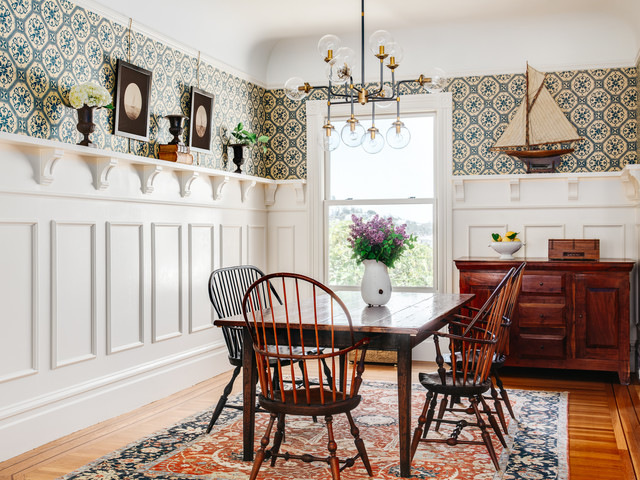 Cape Cod meets San Francisco Victorian // Dining Room traditional-dining-room