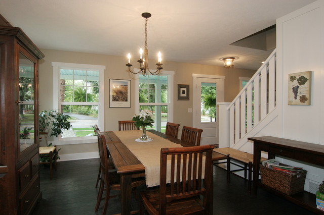 Cape Cod Style Home Traditional Dining Room Part 51