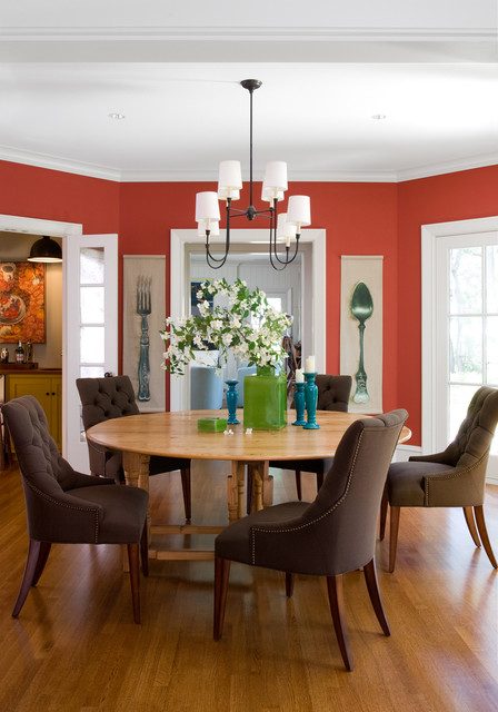 Cape Elizabeth traditional-dining-room