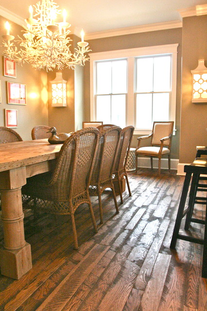 Cape May residence traditional-dining-room