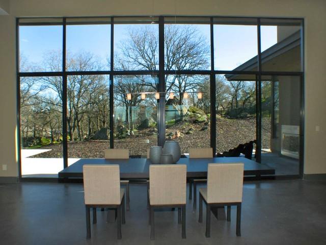 Capetanios Residence contemporary-dining-room