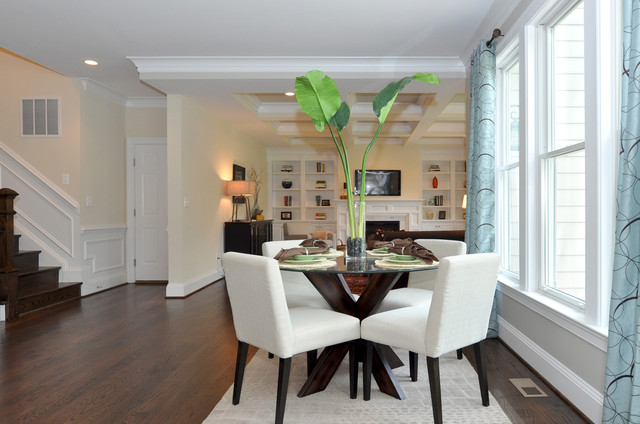 Capital City Builders, LLC 2013 703-351-0909 traditional-dining-room