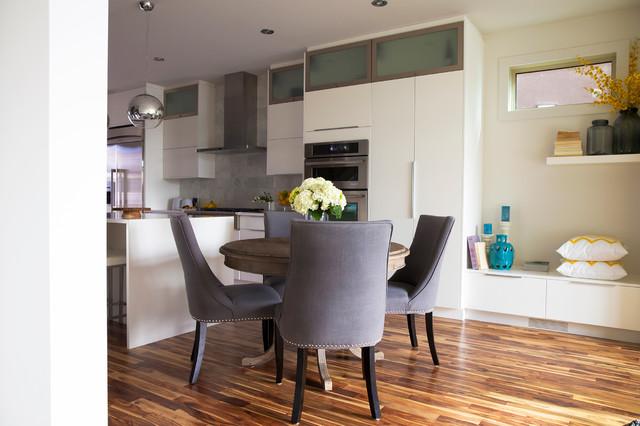 Capitol Hill Custom Home contemporary-dining-room