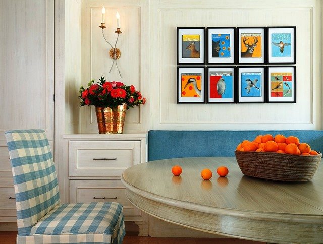 Capitol Hill town house - Contemporary - Dining Room - dc metro - by Mary Douglas Drysdale
