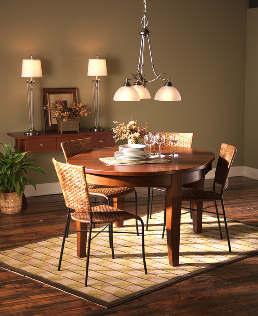 modern traditional dining room - Dining Room Chandelier Traditional