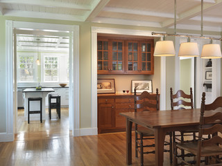 traditional dining room design by providence architect union studio architecture community design stained wood built ins