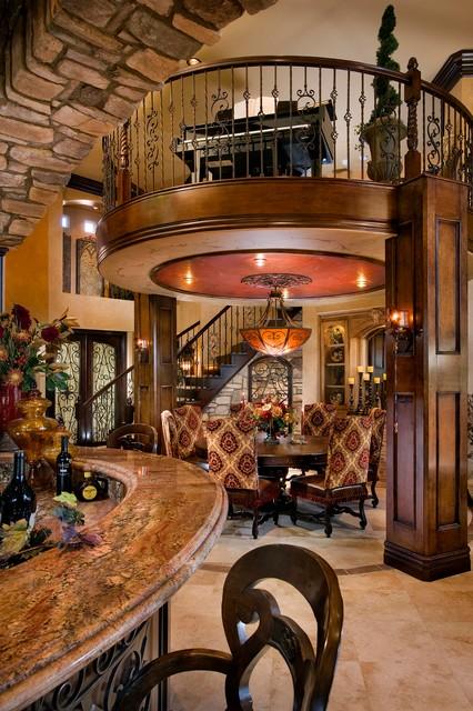 Carlsbad Ca Mediterranean Dining Room Orange County