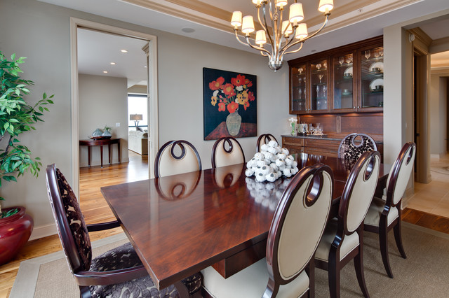 Carlyle Penthouse Traditional Dining Room  : traditional dining room from www.houzz.com size 640 x 426 jpeg 104kB