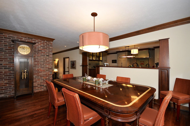 Carmel Arts and Crafts Remodel traditional-dining-room