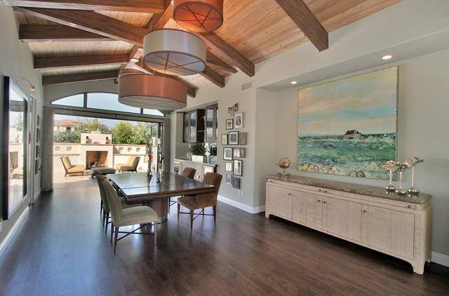 Carmel Valley CA contemporary-dining-room