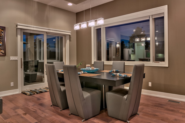Carmen 2 Story By Sierra Homes Omaha Contemporary Dining Room