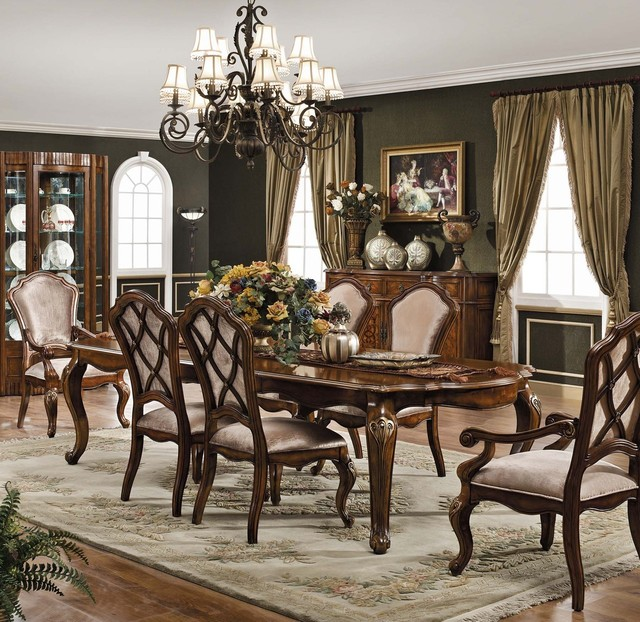 carneros dining set traditional dining room other metro by
