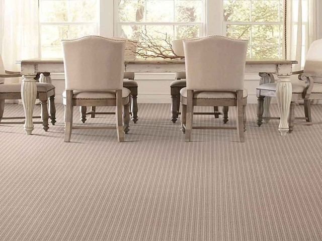 carpet modern dining room toronto by allan rug company