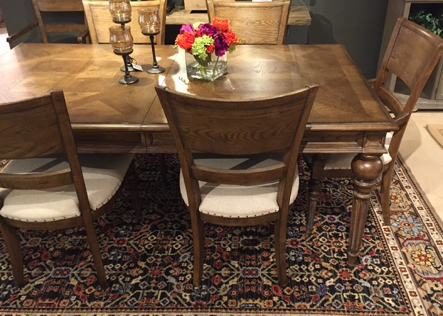 Carpeting and area rugs rustic dining room other for Rustic dining area
