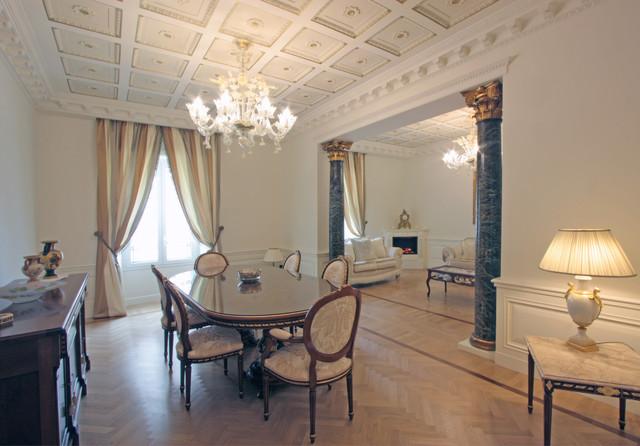 Casa neoclassica in via del corso a roma neoclassical for Ingresso casa classica