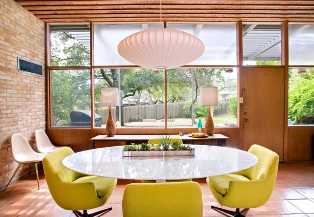 Casa Nido Midcentury Dining Room Austin By Nest Modern