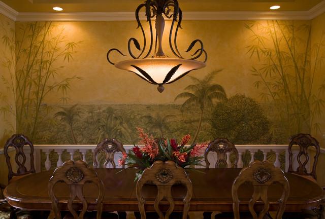 Casa Paralea tropical-dining-room