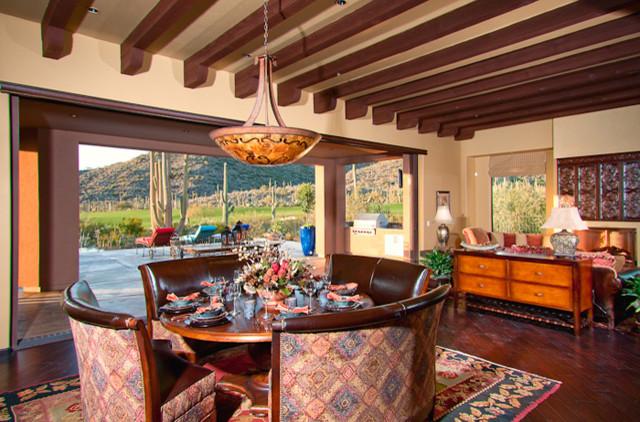 Casa Tucson Territorial elevation Mediterranean
