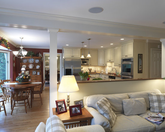 Half wall home design ideas pictures remodel and decor for Dining room half wall ideas