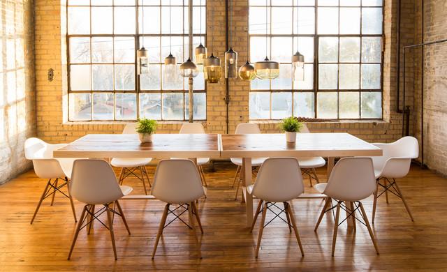 Casket Arts Dining Room Industriel Salle A Manger