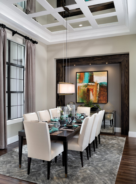 Castellina 1272 Model Home Transitional Dining Room Tampa By Arthur Rutenberg Homes