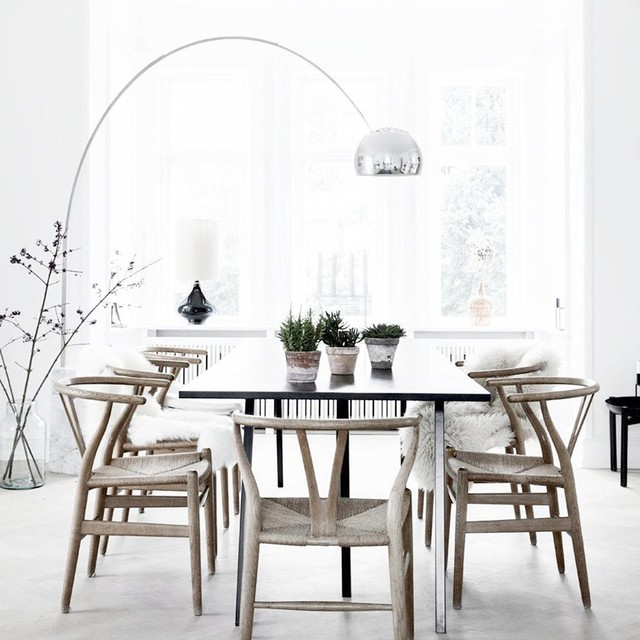 castiglioni 39 s arco floor lamp scandinavian dining room new york. Black Bedroom Furniture Sets. Home Design Ideas