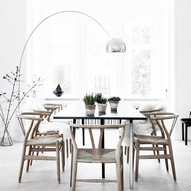 castiglioni 39 s arco floor lamp scandinavian dining room new york. Black Bedroom Furniture Sets. Home Design Ideas