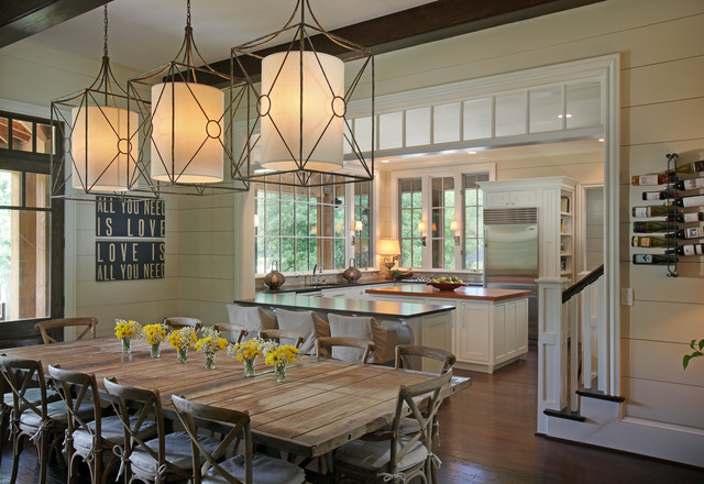 Casual By The Lake Rustic Dining Room Other Metro By Splash Kitchens