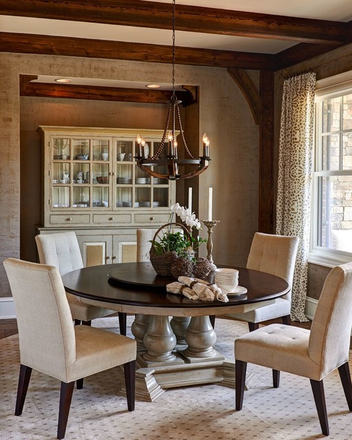 Casual Traditional Dining Rooms