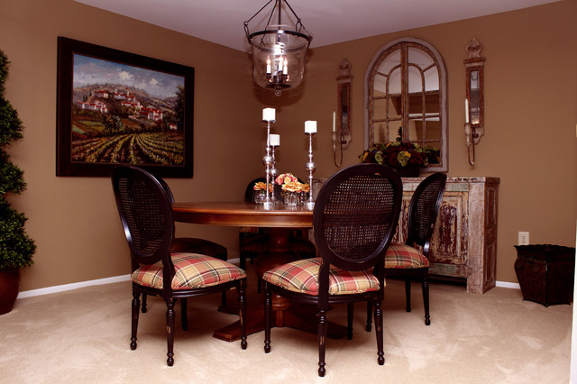 Casual Country Chic Dining Room Surprise AZ