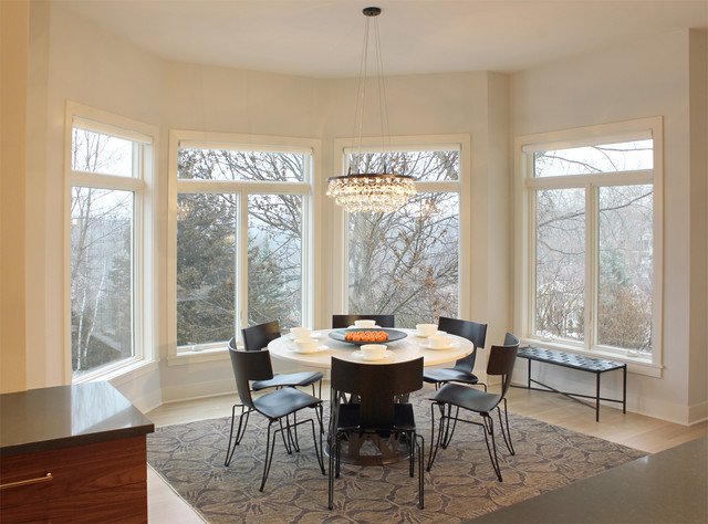 Casual Dining Area Contemporary Dining Room Minneapolis By