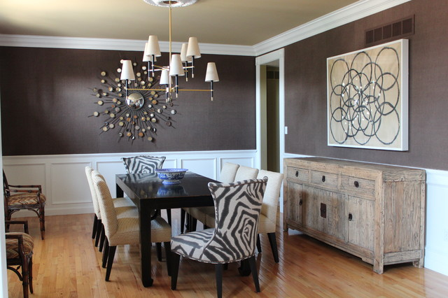 Casually Elegant Dining Roomcontemporary Room St Louis