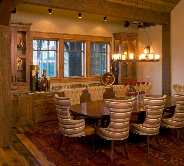 catamount ranch rustic dining room denver by