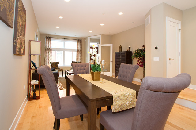 Catherine Court contemporary-dining-room