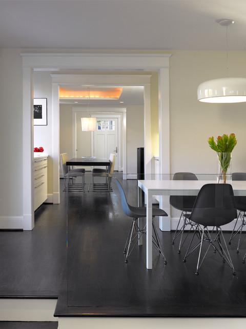Cedar Street contemporary-dining-room