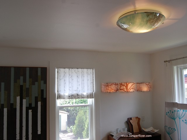ceiling lights modern dining room south east by fuzing glass