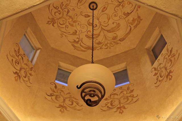 Ceilings by San Antonio Murals dining-room
