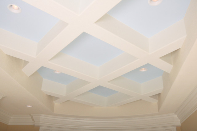 Ceilings contemporary-dining-room