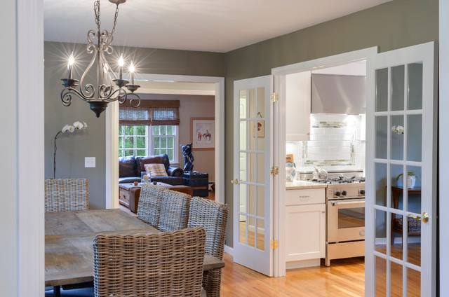 Center Hall Colonial Redo First Floor Traditional