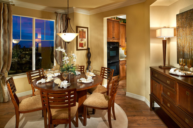 Century Communities at The Reserve at Wheatlands traditional-dining-room