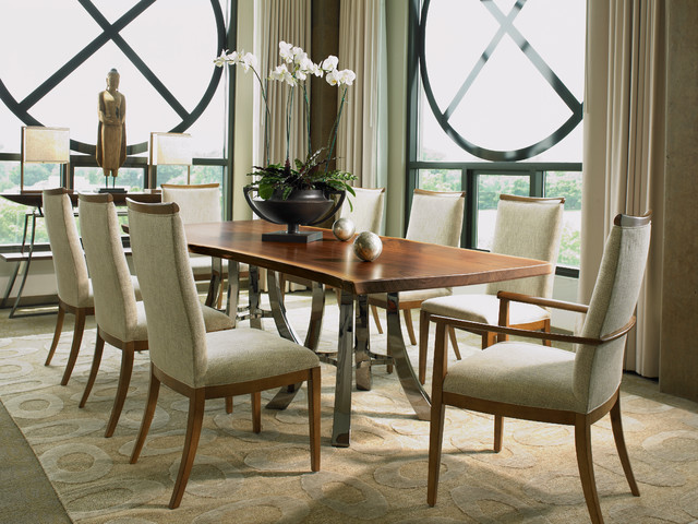 Century 39 s chin hua at robb stucky contemporary dining room miami by robb stucky for Robb and stucky bedroom furniture